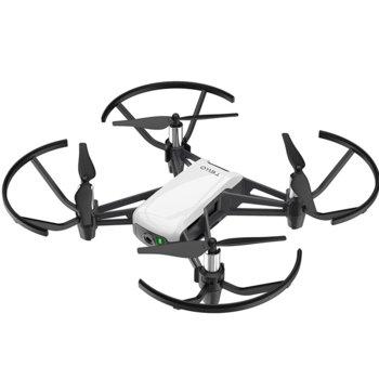 Дрон Ryze Tello, 13 минути полет, до 100 метра, 720p, черен и бял image