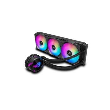 Водно охлаждане за процесор Asus ROG STRIX LC 360 RGB, съвместимост със сокети LGA Intel 115x/1366/2011/ 2011-3/2066 & AMD AM4/TR4 image