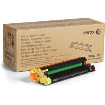 Барабан за Xerox VersaLink C600/C605 - P№ 108R01487 - Yellow - Заб.: 50 000k image