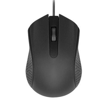 Мишка, оптична(1200 DPI), USB, черен/червен/син/светло син или лилав image