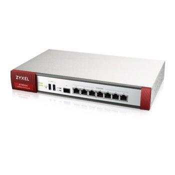 Защитна стена ZyXEL ATP500, 7x LAN 1000, 1x SFP, 3x USB image