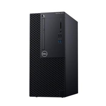 Настолен компютър Dell OptiPlex 3070 MT (DTO3070MTI54G1TU_UBU-14), шестядрен Coffee Lake Intel Core i5-9500 3.0/4.4 GHz, 4GB DDR4, 1TB HDD, 4x USB 3.1, клавиатура и мишка, Linux image