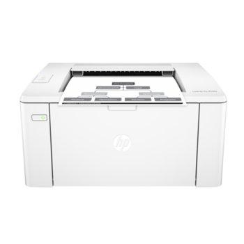 Лазерен принтер HP LaserJet Pro M102a, монохромен, 600x600 dpi, 23 стр/мин, USB, A4 image