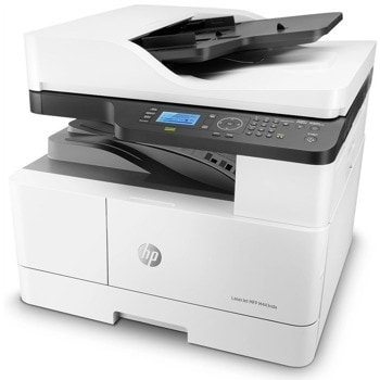 Мултифункционално лазерно устройство HP LaserJet MFP M443nda, монохромен, принтер/копир/скенер, 1200 x 1200 dpi, 25 стр/мин, RJ-45, USB, A3 image