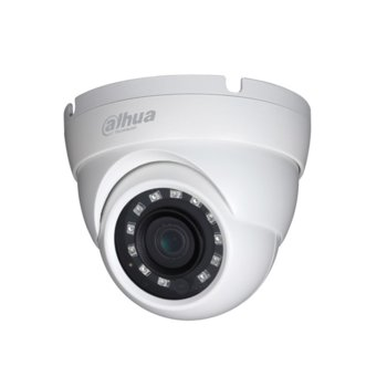 HDCVI камера Dahua HAC-HDW1400M-0360B, куполна, 4 Mpix(2560x1440@25fps), 3.6mm обектив, IR осветеност(до 30 метра), външна, IP67 защита image