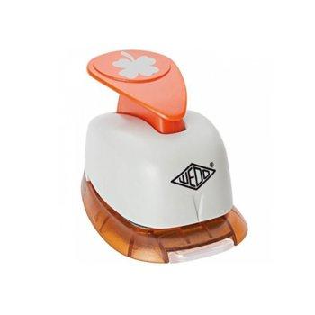 Декоративен перфоратор Wedo, детелина, 18mm image