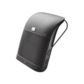 Bluetooth система за кола Jabra Freeway, FM трансмитера, 3 колонки, 10 метра радиус, гласово оповестяване и набиране, черен image