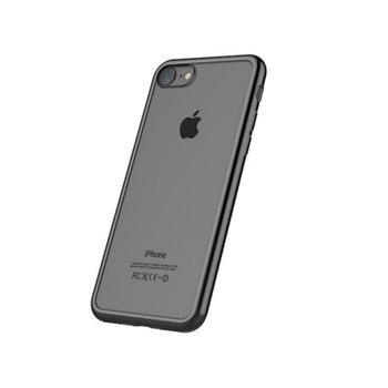 Силиконов протектор Devia Glitter за iPhone 7, сив image
