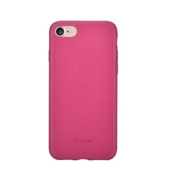 Devia Jelly Slim Leather iPhone 7 Pink DC27582 product