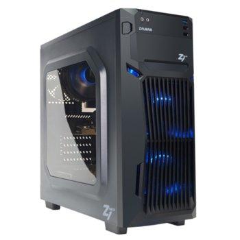 Кутия Zalman Z1-NEO, ATX, черна, прозорец, USB3.0, без захранване image