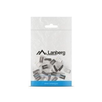Конектори Lanberg PLS-5020, RJ-45, FTP, Cat 5e, екранирани, 20бр. image