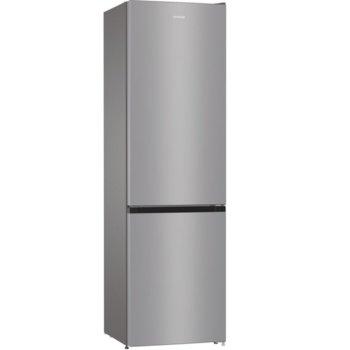 Хладилник с фризер Gorenje NRK6201ES4, клас A+, 353 л. общ обем, свободностоящ, 315 kWh/годишно разход на енергия, NoFrost Plus, AdaptTech, сив image