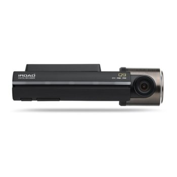 Видеорегистратор IROAD Q9-2CH-16G, камера за автомобил, FullHD(1920x1080), Micro SD до 128GB, Wi-Fi image