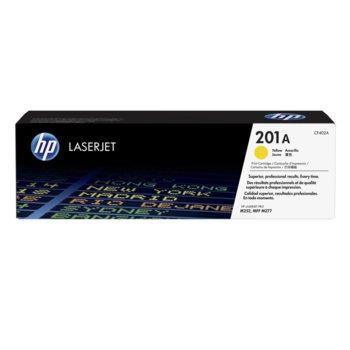 КАСЕТА ЗА HP Color LaserJet Pro M252 Printer series,MFP M277 series - Yellow 201A - № CF402A - заб.: 1400 брой копия image