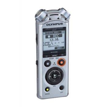 Диктофон Olympus LS-P1 LineArt PCM Recorder Video Kit, 4GB, microSD, USB, сребрист image