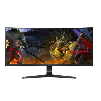 """Монитор LG 34UC89G-B, 34"""" (86.36 cm) IPS извит панел, Full HD, 5ms, 1 000:1, 300cd/m2, Display port, HDMI image"""