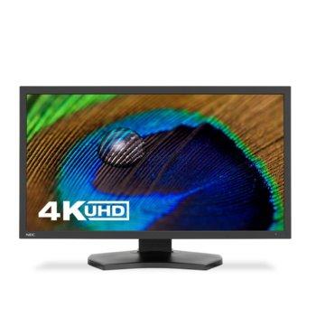 """Монитор NEC PA311D BK, 31.5"""" (80.01 cm) IPS панел, 4K/UHD, 8 ms, 350 cd/m2, DisplayPort, HDMI, USB image"""