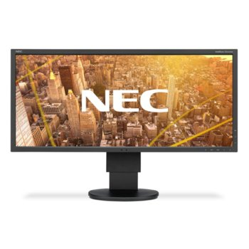 """Монитор NEC EA295WMi Black, 29"""" (73.66 cm) IPS панел, UWHD, 6ms, 25000:1, 300 cd/m2, VGA, HDMI, Display Port, USB image"""