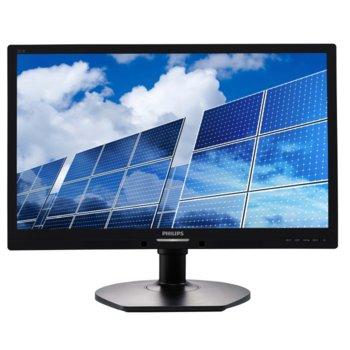 """Монитор Philips 221B6LPCB(221B6LPCB/00), 21.5"""" (54.61cm), TN панел, Full HD, 5ms, 20,000,000:1, 250 cd/m², DVI image"""