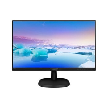 """Монитор Philips 223V7QDSB, 21.5"""" (54.61 cm) IPS панел, Full HD, 5ms, 20000000:1, 250cd/m2, HDMI, VGA, DVI image"""