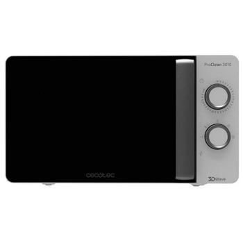 Микровълнова фурна Cecotec Pro Clean 3010 (CEC-01522), механично управление, 700W, 20л. обем, 5 функции, бяла image
