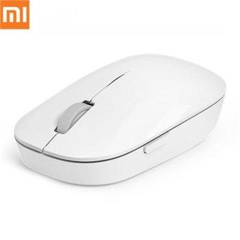 Мишка Xiaomi Mi Wireless Mouse, лазерна 1200dpi, безжична, USB, бяла image