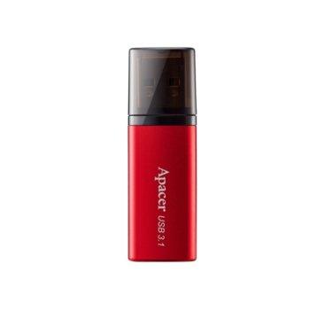 Памет 16GB USB Flash Drive, Apacer AH25B, USB 3.1, червена image