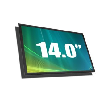 """Матрица за лаптоп Acer LP140WH6-TJA1, 14"""" (35.56 cm) WXGAP 1366 x 768 pix., матовa image"""