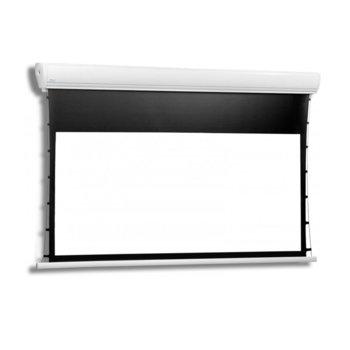Екран Avers AKUSTRATUS 2 TENSION 21-12 MG BT, за стена/таван, Matt White, 2070 x 1580 мм, 16:10 image