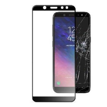 Протектор от закалено стъкло /Tempered Glass/, Cellularline, за Samsung Galaxy A6 2018, черен image