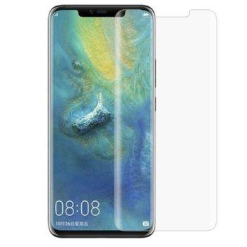 Протектор от закалено стъкло /Tempered Glass/ PET за Huawei Mate 20 Pro, силиконов image