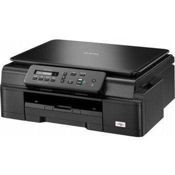 Мултифункционално мастиленоструйно устройство Brother DCP-J105, цветен, принтер/скенер/копир, 6000x1200 dpi, 11 стр/мин, WiFi, USB, A4 image