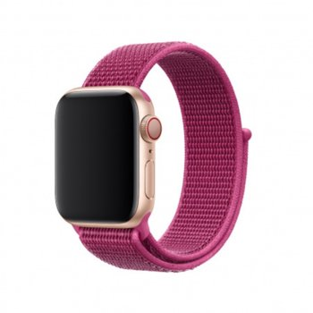 Каишка за смарт часовник Apple Watch (40mm) Dragon Fruit Sport Loop (Seasonal Summer2019), лилав image