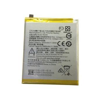 Батерия (оригинална) Nokia HE340, за Nokia 7, 3060mAh/3.85V, bulk package image