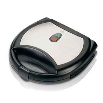 Сандвич скара Sapir SP 1442 AKM, мраморно покритие, грил плочи, защита против прегряване, 750 W, черен image