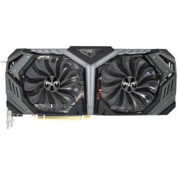 Видео карта nVidia GeForce RTX 2080 SUPER, 8GB, Palit GeForce RTX 2080 SUPER GameRock, PCI-E 3.0, GDDR6, 256bit, Display Port, HDMI image