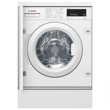 Перална машина Bosch WIW 24340 EU, A+++, 7 кг. капацитет, 1200 оборота в минута, за вграждане, 60 cm ширина, бяла image