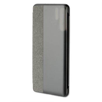 Калъф за Huawei P30 Pro, 4Smarts Smart Cover 4S467468, тъмносив image