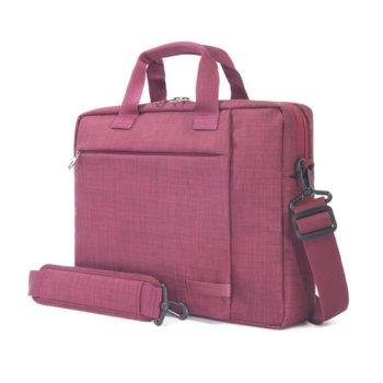 "Чанта за лаптоп TUCANO BSVO1112-BX Svolta Small, до 12.5"" (31.75 cm), организатор за смартфон, бордо image"