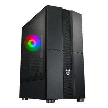 Кутия Fortron CMT270, ATX/Micro ATX, 2x USB 3.0, черна, без захранване image