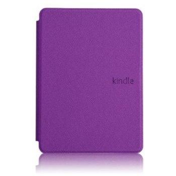 Калъф за електронна книга с подарък протектор за екрани и стилус, за Kindle 2019, лилав image