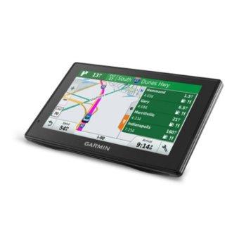 """Garmin DriveAssist 50LMT ЕU, автомобилна навигация, 5""""(12.7 cm) WQVGA TFT дисплей, microSD, Bluetooth, карта на цяла Европа, с вградена камера image"""