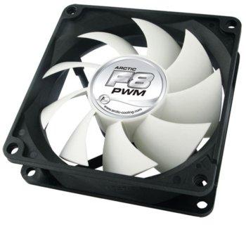 Вентилатор 80mm, Arctic Fan F8 PWM, Fluid Dynamic Bearing image