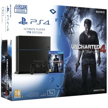 Sony PlayStation 4 + Uncharted 4: A Thiefs End product