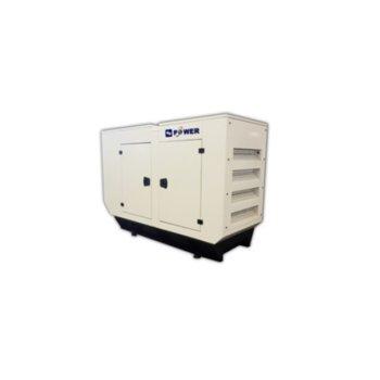 Дизелов генератор KJ POWER KJP 10C, трифазен, двигател PERKINS, алтернатор SINCRO, 10kVA/8kW, 60л резервоар, с кожух image