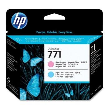 Глава за HP Designjet Z6200 - HP 771 - Light Magenta/Light Cyan - P№ CE019A  image