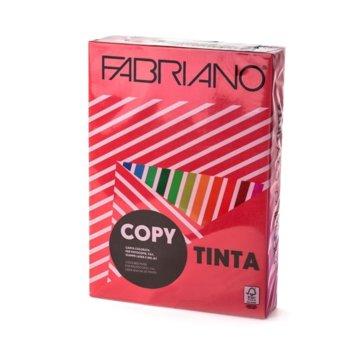 Копирен картон Fabriano, A4, 160 g/m2, червен, 250 листа image