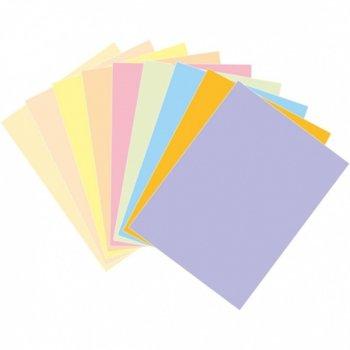 Картон Асорти, Цветен, А4, 60g/m2, 125л., Пастелни цветове image