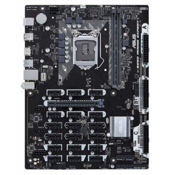Дънна платка Asus B250 MINING EXPERT в комплект с Intel Celeron G3930 и A-Data XPG 2x 4GB DDR4 (употребявани), B250, LGA1151, DDR4, 1x PCI-E x16, 18x PCI-E x1, 4x SATA 6Gb/s, 6x USB 3.1 Gen1, 4x USB 2.0, ATX, bulk image