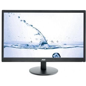 """Монитор AOC M2470SWH, 23.6"""" (59.94 cm) MVA панел, Full HD, 5ms, 50 000 000:1, 250cd/m2, HDMI, VGA image"""